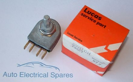 Lucas 78527 5R rotary rheostat dimmer switch